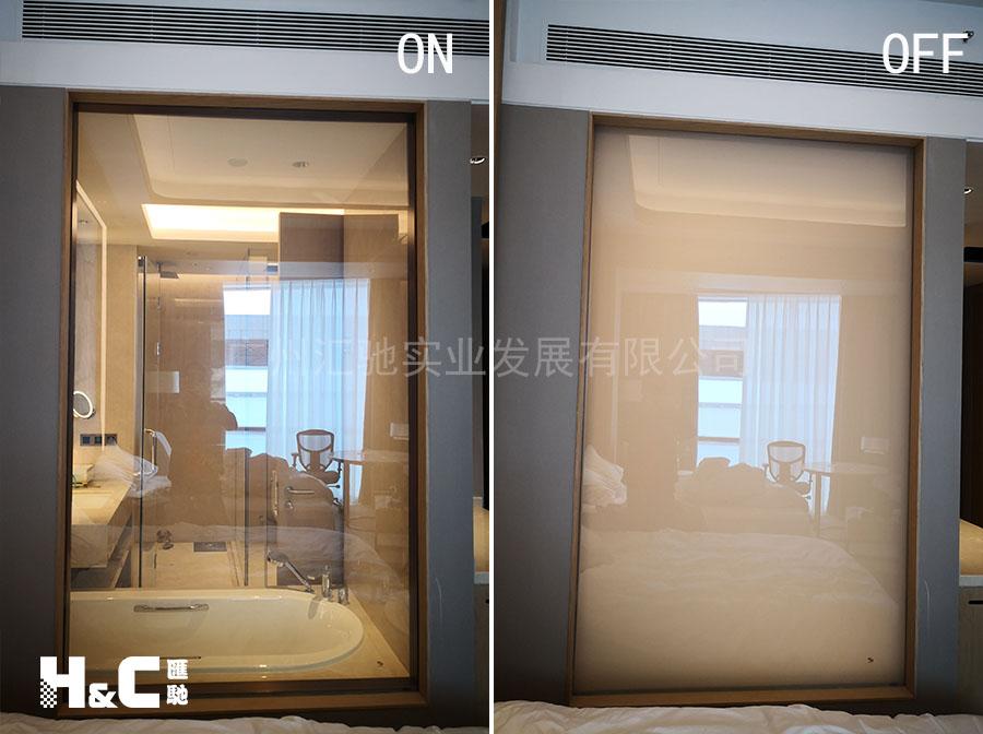 调光玻璃高透明度